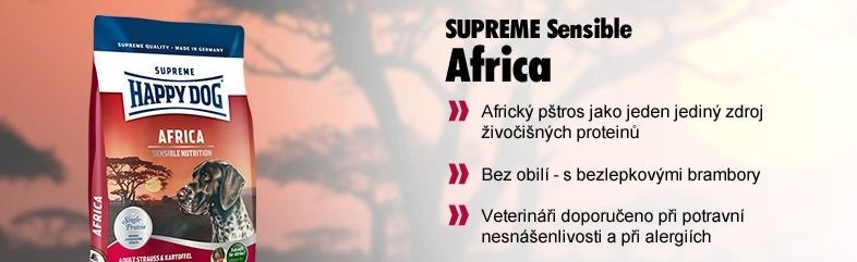 happy dog super premium happy dog supreme africa 12 5 kg doprava zdarma dental snacks. Black Bedroom Furniture Sets. Home Design Ideas