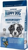 HAPPY DOG SUPREME MEDIUM Baby 28 3x10kg + DOPRAVA ZDARMA+Dental Snacks!