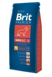 Brit premium dog adult L 15kg + DENTAL SNACKS ZDARMA!!!