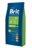 Brit premium dog adult XL 2x15kg + DENTAL SNACKS ZDARMA!!!