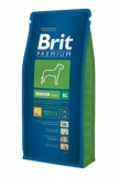 Brit premium dog senior XL 15kg + DENTAL SNACKS ZDARMA!