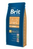 Brit premium dog sport 15kg + DENTAL SNACKS ZDARMA!!!