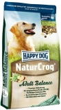 HAPPY DOG NaturCroq Balance 15kg + DOPRAVA ZDARMA+Dental Snacks!