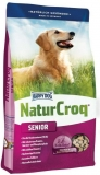 HAPPY DOG NaturCroq Senior 15kg + DOPRAVA ZDARMA+Dental Snacks!