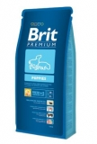 Brit premium dog puppies 15kg + DENTAL SNACKS ZDARMA!!!
