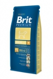 Brit premium dog junior M 15kg + DENTAL SNACKS ZDARMA!!!
