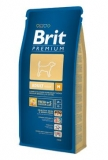 Brit premium dog adult M 15kg + DENTAL SNACKS ZDARMA!!!