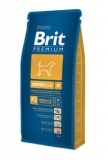 Brit premium dog senior M 15kg + DENTAL SNACKS ZDARMA!!!