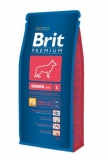 Brit premium dog senior L 15kg + DENTAL SNACKS ZDARMA!!!
