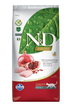 N&D PRIME CAT Adult Chicken & Pomegranate 1,5kg