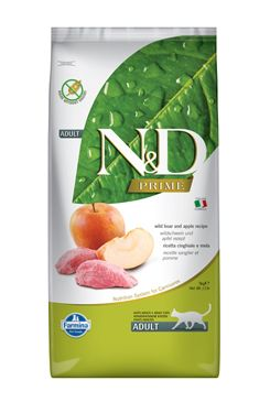 N&D PRIME CAT Adult Boar & Apple 5kg