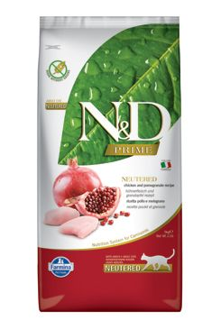 N&D PRIME CAT Neutered Chicken&Pomegranate 5kg