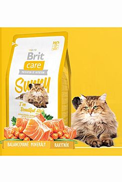 Brit Care Cat Sunny I´ve Beautiful Hair 2x7kg