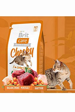 Brit Care Cat Cheeky I´m Living Outdoor 2x7kg