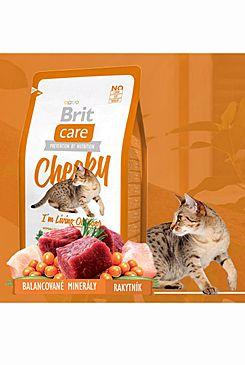 Brit Care Cat Cheeky I´m Living Outdoor 2x7kg (+ 2% SLEVA PO REGISTRACI / PŘIHLÁŠENÍ!)
