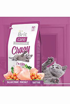 Brit Care Cat Crazy I´m Kitten 2x7kg