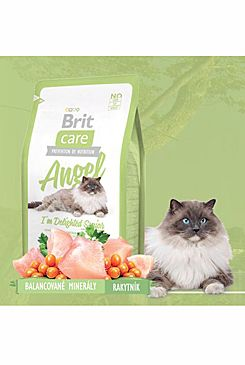 Brit Care Cat Angel I´m Delighted Senior 2x7kg