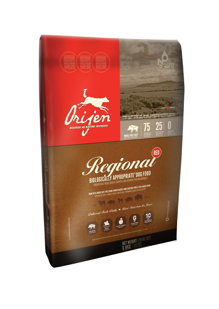 ORIJEN Dog Regional Red 6,8kg + DOPRAVA ZDARMA! (+ 2% SLEVA PO REGISTRACI / PŘIHLÁŠENÍ!)