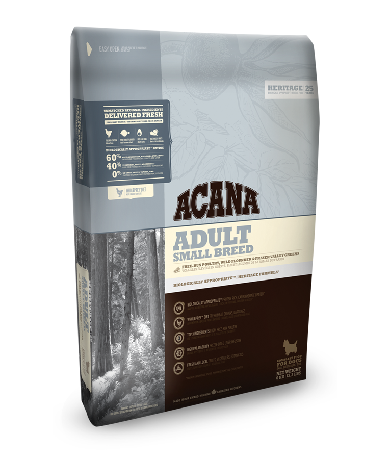 ACANA DOG Adult Small Heritage 2x6kg