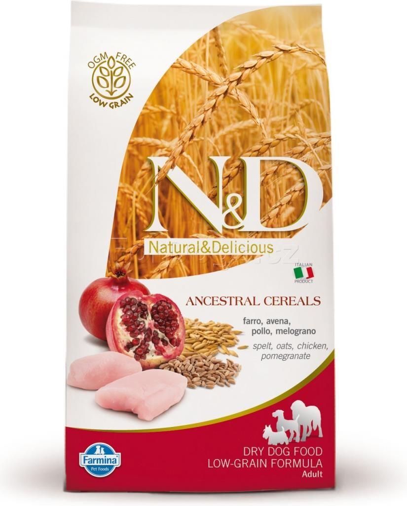 N&D Low Grain Senior M/L Chicken&Pomegr. 2x12kg+DOPRAVA ZDARMA+Dental Snacks! (+2% SLEVA PO REGISTRACI/PŘIHLÁŠENÍ!)