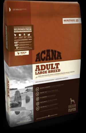 Acana Heritage Adult Large Breed 11,4kg + DOPRAVA ZDARMA (+ 2% SLEVA PO REGISTRACI )