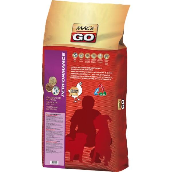 MACs Dry GO Dospělý Aktivní pes 3 x 12 kg