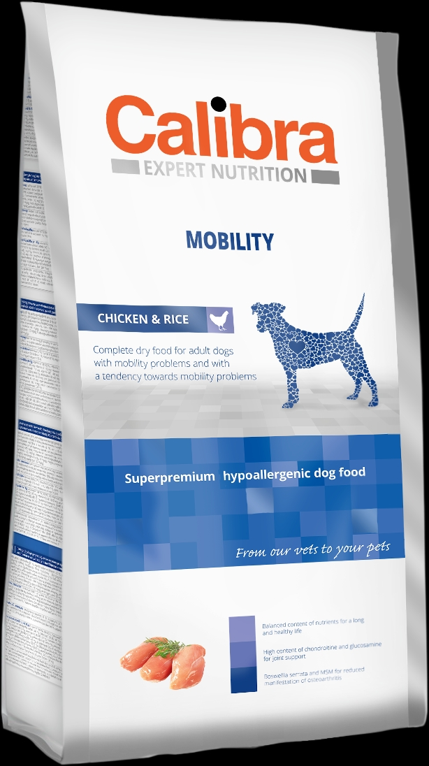 Calibra Dog EN Mobility 12kg NEW+DOPRAVA ZDARMA (+SLEVA PO REGISTRACI/PŘIHLÁŠENÍ)
