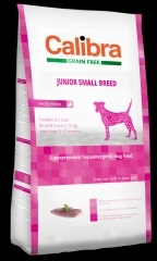 Calibra Dog GF Junior Small Breed Duck 2x7kg + DOPRAVA ZDARMA