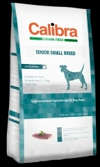 Calibra Dog GF Senior Small Breed Duck 7kg + DOPRAVA ZDARMA!