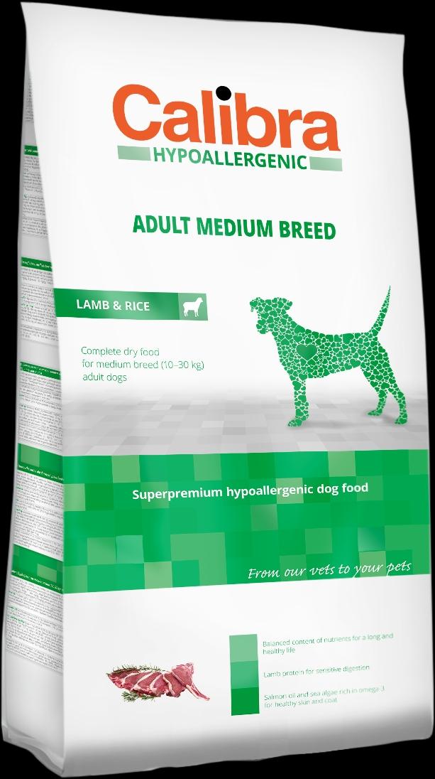 Calibra Dog HA Adult Medium Breed Lamb 14kg NEW+DOPRAVA ZDARMA (+SLEVA PO REGISTRACI/PŘIHLÁŠENÍ)