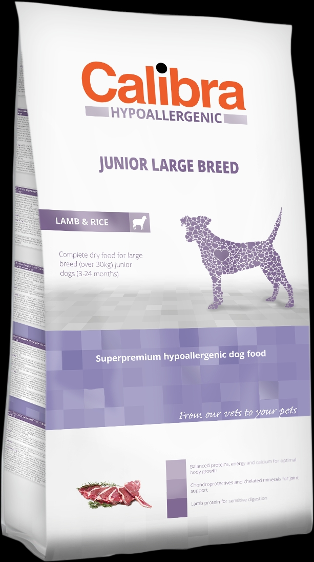 Calibra Dog HA Junior Large Breed Lamb 14kg NEW+DOPRAVA ZDARMA (+SLEVA PO REGISTRACI/PŘIHLÁŠENÍ)