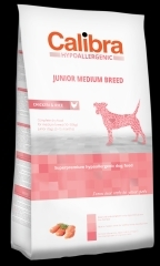 Calibra Dog HA Junior Medium Breed Chicken 14kg + DOPRAVA ZDARMA