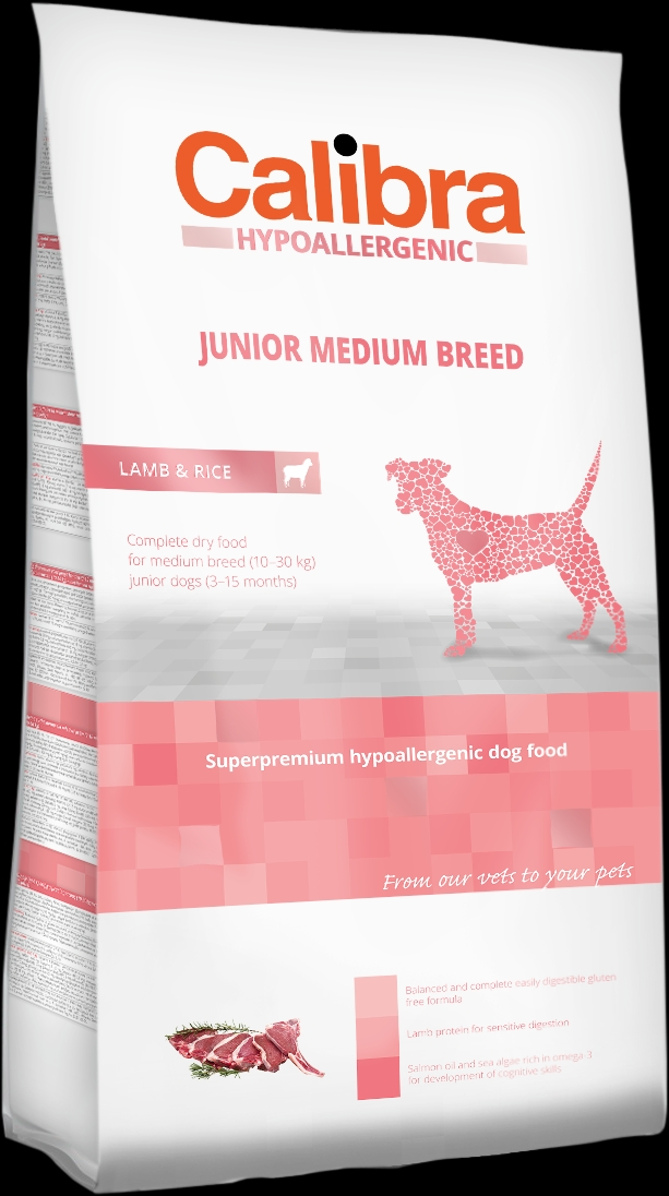 Calibra Dog HA Junior Medium Breed Lamb 14kg + DOPRAVA ZDARMA