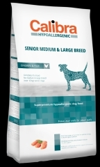 Calibra Dog HA Senior Medium & Large Chicken 2x14kg + DOPRAVA ZDARM