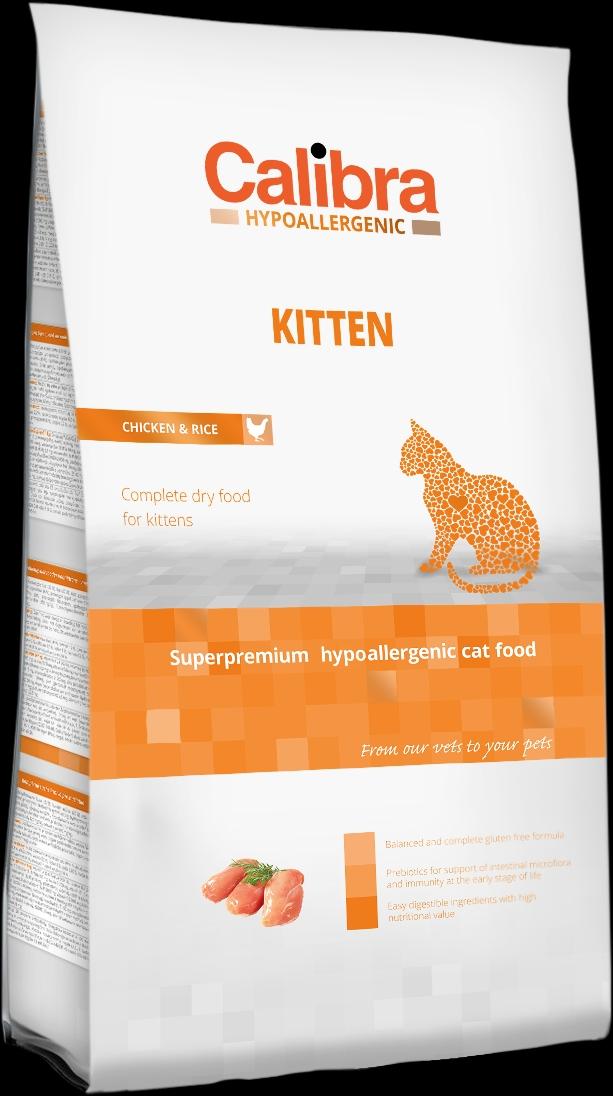 Calibra Cat HA Kitten Chicken 7kg NEW (+SLEVA PO REGISTRACI/PŘIHLÁŠENÍ)