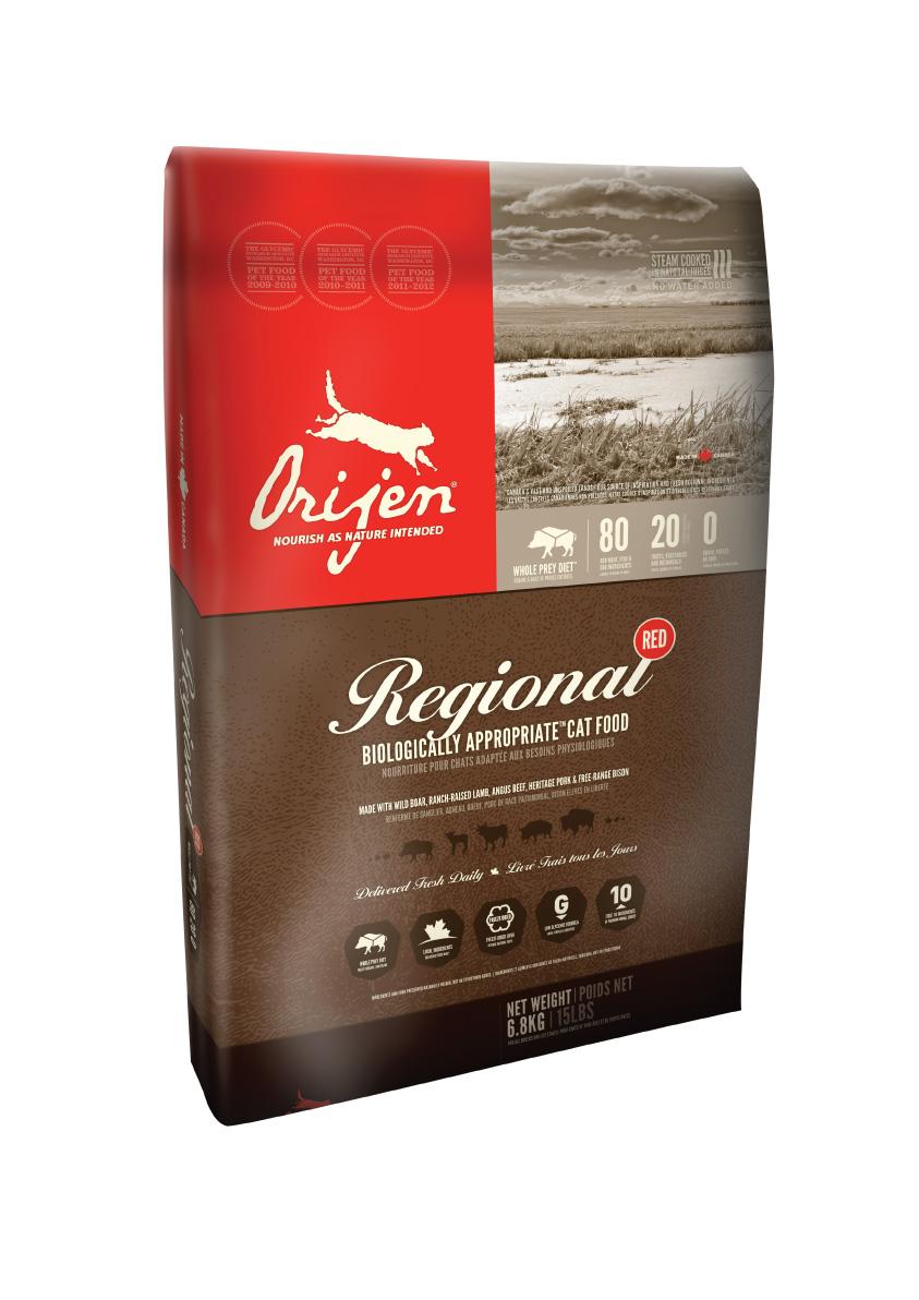 ORIJEN Regional Red Cat 2,27 kg (+ SLEVA PO REGISTRACI/PŘIHLÁŠENÍ)