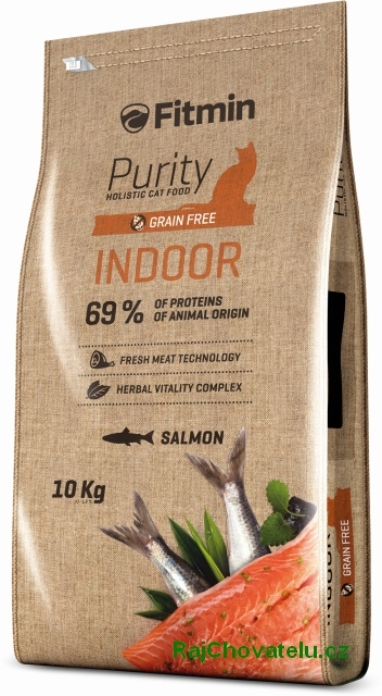 Fitmin Cat Purity Indoor 2 x 10 kg