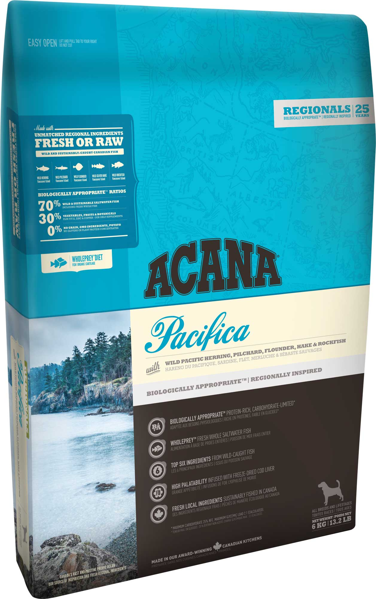 Acana Dog Pacifica 2x11,4 kg