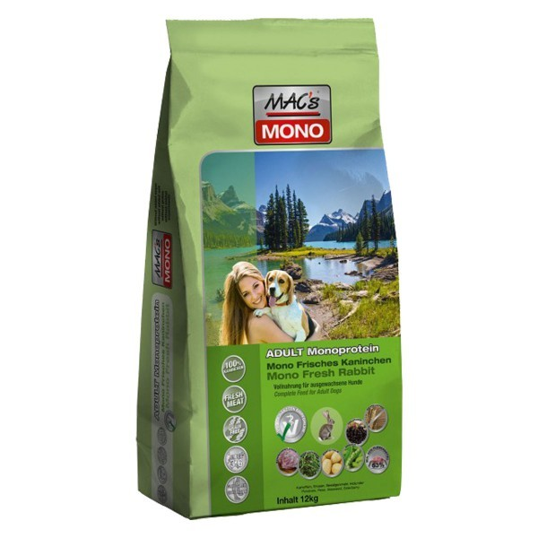 MACs Dry Mono Kachna & brambory 3 x 12 kg