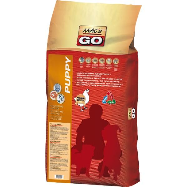 MACs Dry GO pro Štěňata 3 x 12 kg