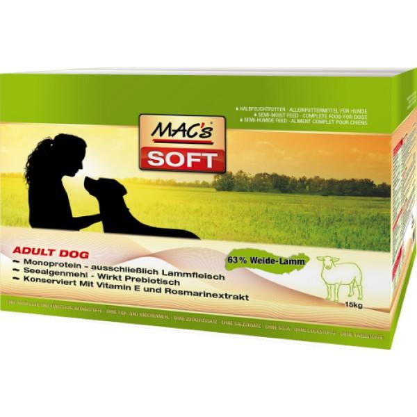 MACs SOFT Dog MINI JEHNĚ 3 x 15kg