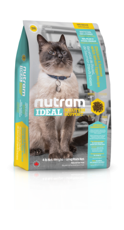 I19 Nutram Ideal Sensitive Cat 3x6,8kg+DOPRAVA ZDARMA!