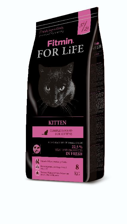 Fitmin Cat For Life Kitten 3x8kg + DOPRAVA ZDARMA!