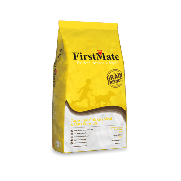 FirstMate Grain Friendly Chicken Meal & Oats 2x11,4 kg+DOPRAVA ZDARMA+1x masíčka Perrito!