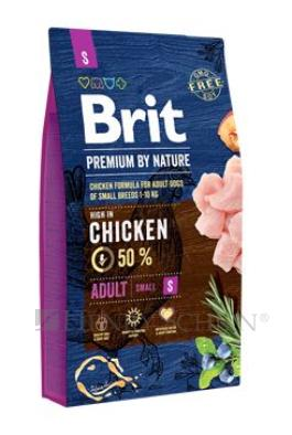 Brit Premium Dog by Nature Adult S 3 x 8 kg + DOPRAVA ZDARMA