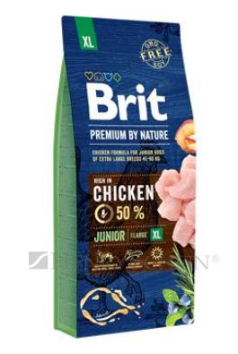 Brit Premium Dog by Nature Junior XL 3 x 15kg + DOPRAVA ZDARMA