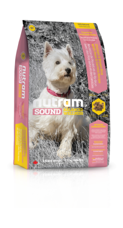 S7 Nutram Sound Small Breed Adult Dog 2,72kg