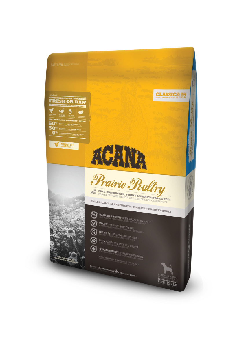ACANA Dog Classic Prairie Poultry 6kg