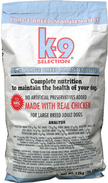 K-9 Selection Maintenance Large 1 kg