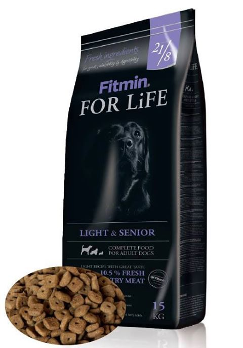Fitmin Dog for Life Dog Light & Senior 2 x 15 kg